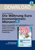 Die Währung Euro kennenlernen: Münzen Preview 1