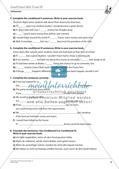 Grammatikphänomene: Tenses, Reported speech, Sentences Preview 10