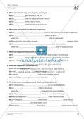 Grammatikphänomene: Tenses, Reported speech, Sentences Preview 16