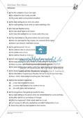 Grammatikphänomene: Tenses, Reported speech, Sentences Preview 17