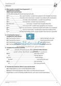 Grammatikphänomene: Tenses, Reported speech, Sentences Preview 7
