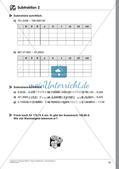 Dezimalbrüche: Addition und Subtraktion Preview 21