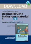 Dezimalbrüche: Multiplikation und Division Preview 1