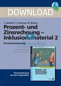 Inklusionsmaterial: Prozentrechnung Preview 1