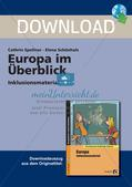 Inklusionsmaterial: Europa im Überblick Preview 1