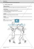 Rückschlagspiele: Einen Spielgegenstand volley mit der Hand spielen Preview 13