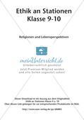 Ethik an Stationen: Religionen und Lebensperspektiven Preview 2