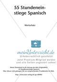 Stundeneinstiege zum Thema Wortschatz Preview 2
