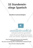 Stundeneinstiege zum Thema Sprachproduktion Preview 2