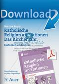 Kath. Religion: Fastenzeit und Ostern Preview 1