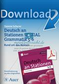 Stationenarbeit Grammatik: Nomen Preview 1