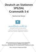 Stationenarbeit Grammatik: Nomen Preview 2