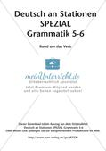 Stationenarbeit Grammatik: Verben Preview 2