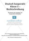 Kooperative Methoden - Rechtschreibung Preview 2