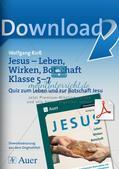 Quiz zum Leben und zur Botschaft Jesu Preview 1