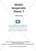 Kooperative Methoden - Rationale Zahlen Preview 2