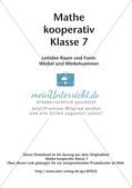 Kooperative Methoden - Winkel und Winkelsummen Preview 2