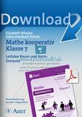 Kooperative Methoden - Dreiecke Preview 1