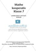 Kooperative Methoden - Dreiecke Preview 2