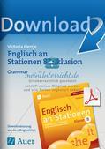 Stationenarbeit: Grammatik Preview 1