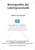 Adjektive und Adverbien Preview 2