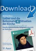 Luther und die Reformation: Situation der Kirche Preview 1