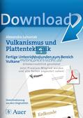Vulkanismus und Plattentektonik Preview 1