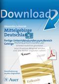 Mittelgebirge Deutschlands Preview 1