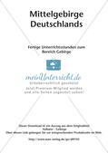 Mittelgebirge Deutschlands Preview 2
