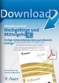Hochgebirge und Mittelgebirge Preview 1