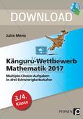 Känguru-Wettbewerb Mathematik 2017 Preview 1
