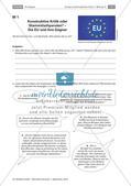 Politik_neu, Sekundarstufe I, Sekundarstufe II, Politische Ordnung, Europäische Union, Politische Ordnung auf Europaebene, Europäische Union, Europa, Vorteile der EU, Nachteile der EU, Kritik zur EU