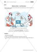 Deutsch_neu, Sekundarstufe I, Sprache und Sprachgebrauch untersuchen, Sprachreflexion, Entdeckung der Gemeinsamkeiten und Unterschiede von Sprachen, Untersuchung von Sprache/ Sprachgebrauch und Medien, SMS, Handy, Karrikatur, Kritik, Medien, Medienkompetenz, Messenger, Medienkritik, Social Media, Social Media App