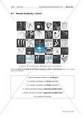 Kunst_neu, Sekundarstufe I, Kunstbegegnung und -betrachtung, Flächiges Gestalten, Bildanalyse und -interpretation, Zeichnen, Kontext des Kunstwerks, Grafische Elemente, Rezeptionsgeschichtlicher Kontext, Punkt, Linie, Kandinsky, Kreis, Linie, Punkt, Wassily Kandinsky