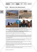 Der Lebensraum Wüste: Bilinguales Material Preview 10