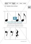 Rhythmusübungen: Fachbegriffe und Notenwerte Preview 2