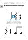 Rhythmusübungen: Fachbegriffe und Notenwerte Preview 3