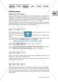 Musik_neu, Sekundarstufe I, Musikpraxis, Musiktheorie, Grundlagen, Grundlagen der Notation, Noten- und Pausenwerte, Ideen zur Umsetzung: Notenlernen, Noten-Quiz, einen Rhythmus aufschreiben, Zuordnung Rhythmus- Liedanfang, Lückentext mit Noten, Taktarten, Vier-Viertel-Takt