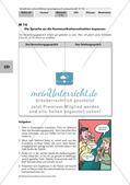 Schriftlichkeit im Mündlichen: Rede und Bewerbungsgespräch Preview 9