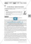 Materialgestütztes Schreiben: Begegnung mit den Materialien Preview 1