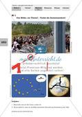 Politik_neu, Sekundarstufe I, Politische Ordnung, Politische Ordnung auf Europaebene, Grenzen, Zoll, Euro, Länder der EU, Europäischer Rat, Fahne der EU, Europawahl, Kandidatenländer der EU