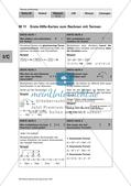 Erste-Hilfe-Karten zum Rechnen mit Termen Preview 1