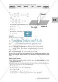 Abiturvorbereitung - Analytische Geometrie Preview 9
