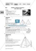 Größen in Körpern - differenzierte Übungen Preview 1