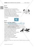 Texte und Lesekartei zum Thema
