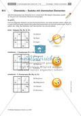 Sudoku und Stadt, Land, Fluss mit chemischen Elementen Preview 1