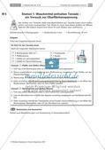Inhaltsstoffe von Waschmitteln: Stationenlernen Preview 1