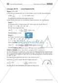 Sinus, Kosinus und Tangens - Anwendungsaufgaben zur Trigonometrie Preview 29