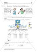 Glücksrad und Lostrommel - Wahrscheinlichkeiten im Baumdiagramm darstellen und berechnen Preview 6