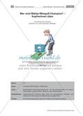 Mathe-Minigolf - Kopfrechnen üben Preview 1